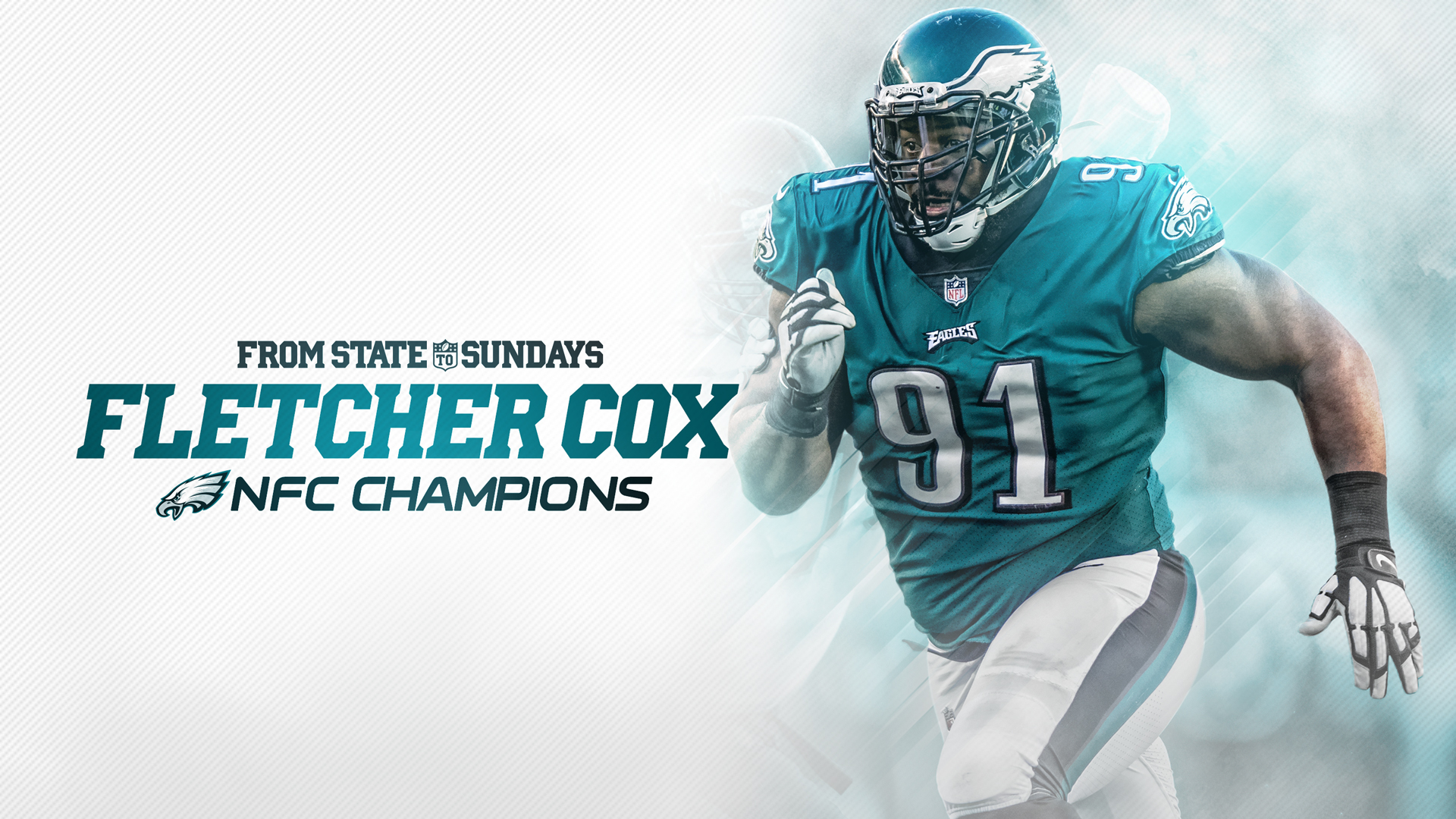 great fit ba446 30d9d From State To The Super Bowl: Fletcher Cox Wins NFC ...