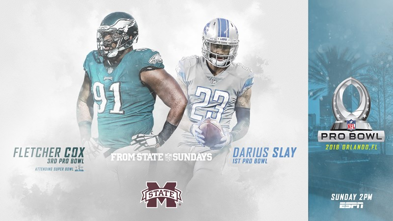 bfc0d5ad7  FromStateToSundays  Darius Slay Makes First Pro Bowl Appearance Sunday -  Mississippi State