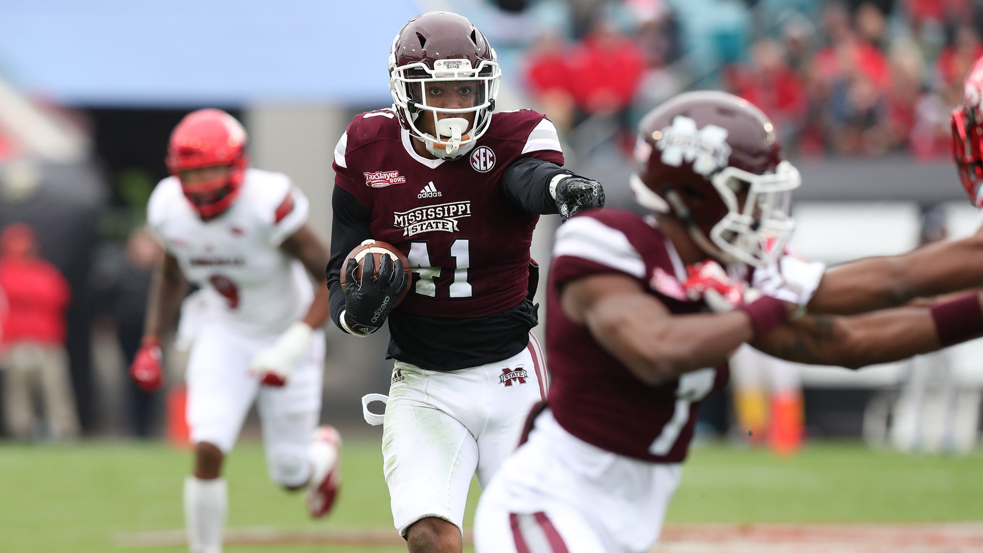 new style b84b4 7d0af Mark McLaurin Recognized on Associated Press All-Bowl Team ...