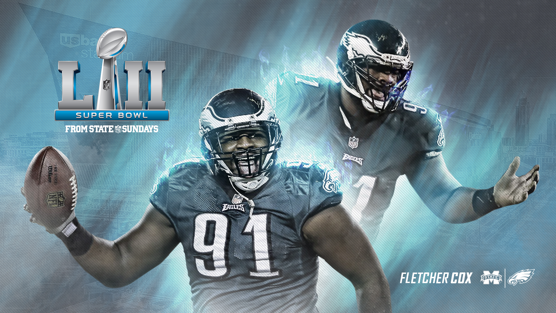 From State To The Super Bowl Fletcher Cox Aims For World