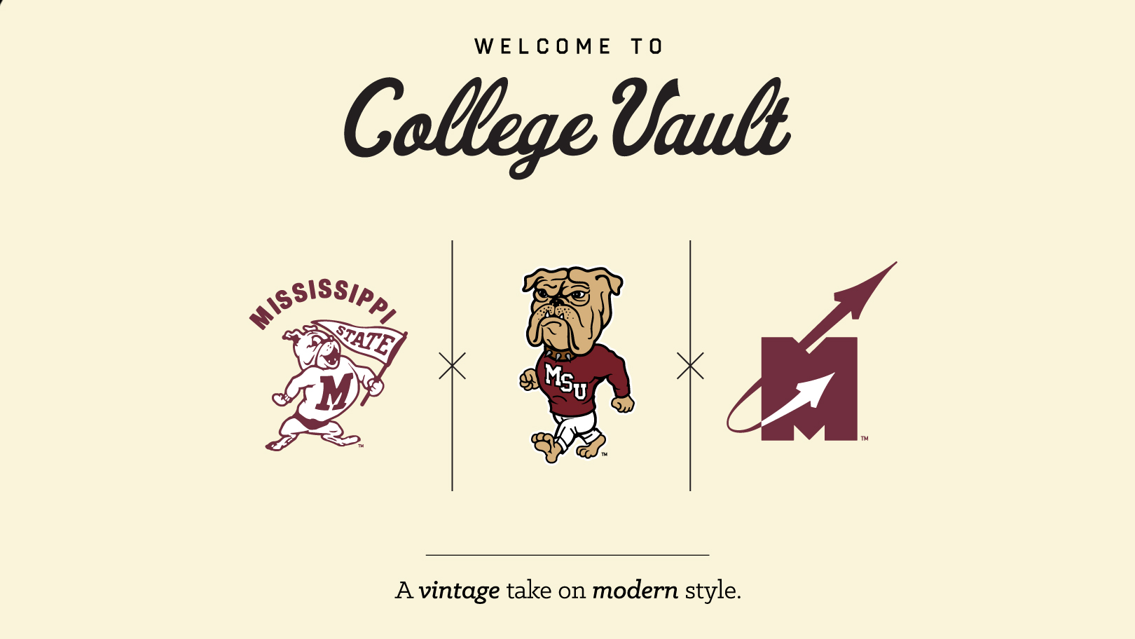 msu launches college vault vintage inspired merchandise collection
