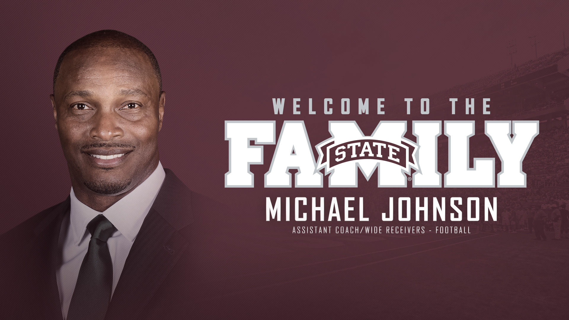 467a19344af Moorhead Announces Johnson as Wide Receivers Coach - Mississippi State