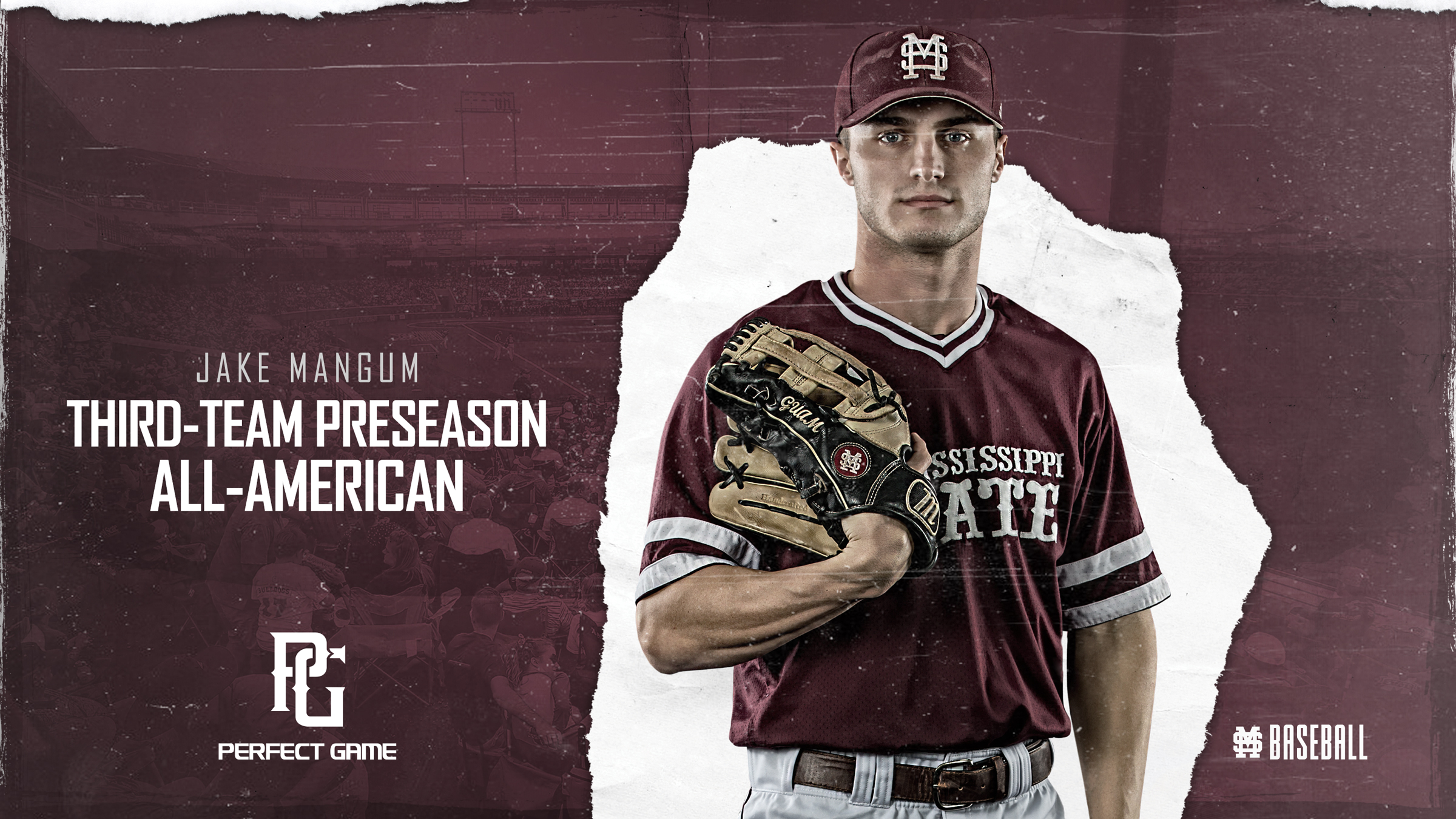 Mangum Tabbed All-American by Perfect Game - Mississippi State
