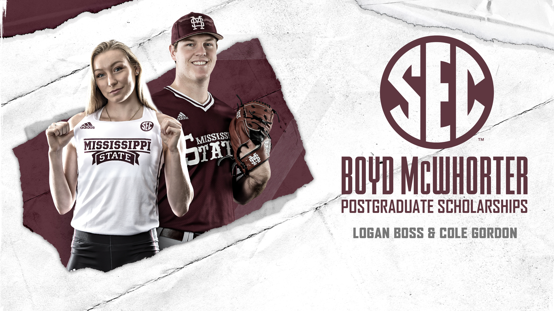 Mississippi State Scholarships >> Gordon Boss Nominated For Mcwhorter Postgraduate Scholarships